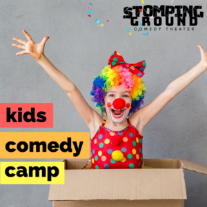 Kids Comedy Camp (Ages 8-13)