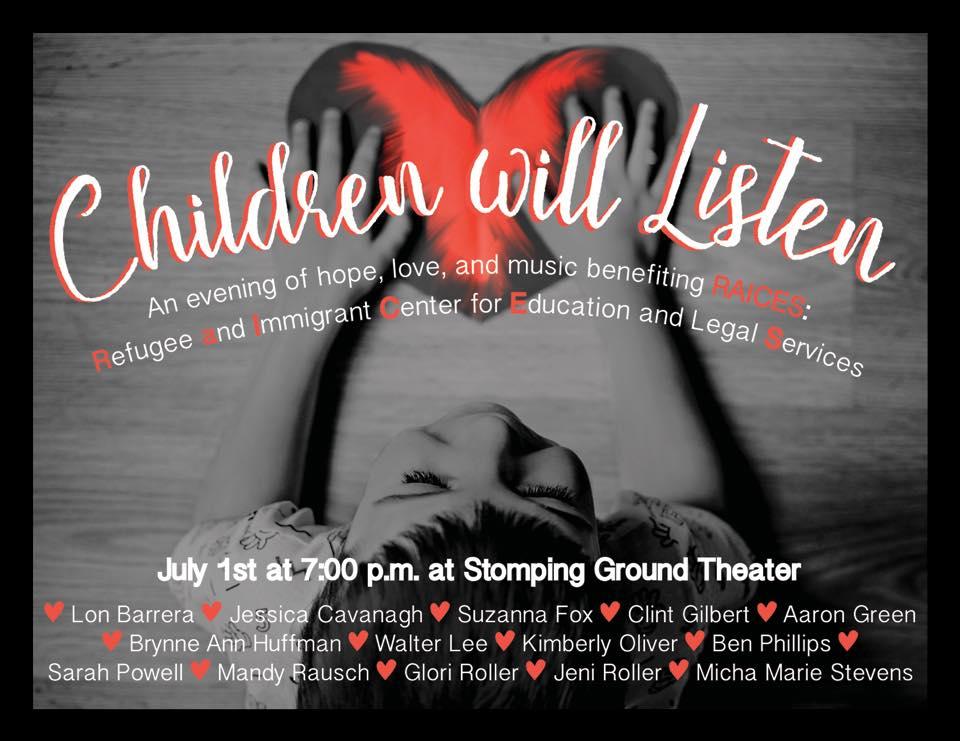 Children Will Listen- An Evening of Hope, Love, & Music