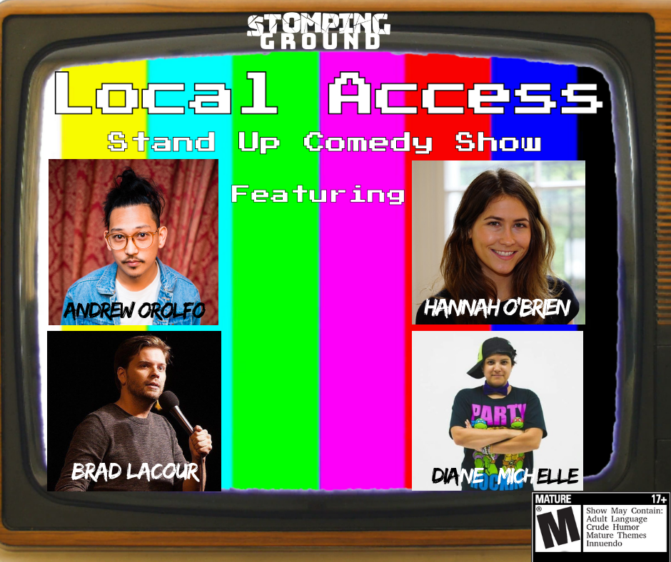 Local Access Stand Up Comedy