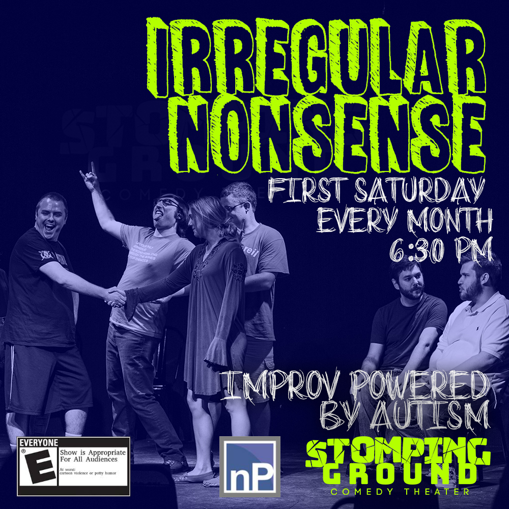 Irregular Nonsense at Stomping Ground Comedy