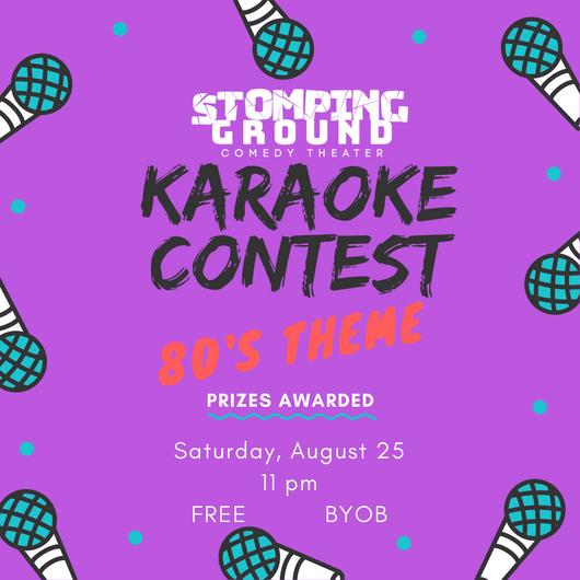 Karaoke Contest- 80s Night!