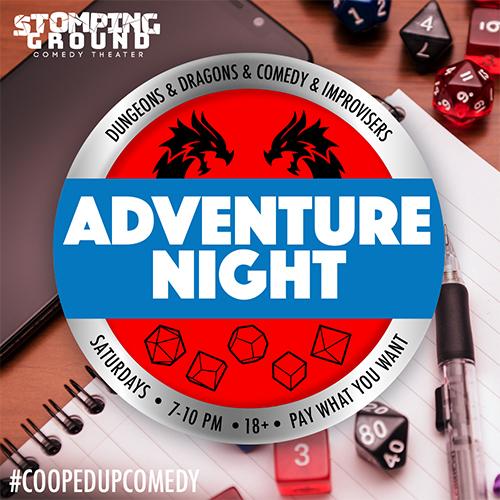 Adventure Night: Drop-In RPG Night